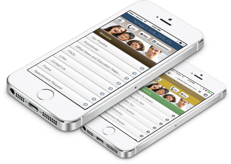 Mobile Optimized Dental Websites